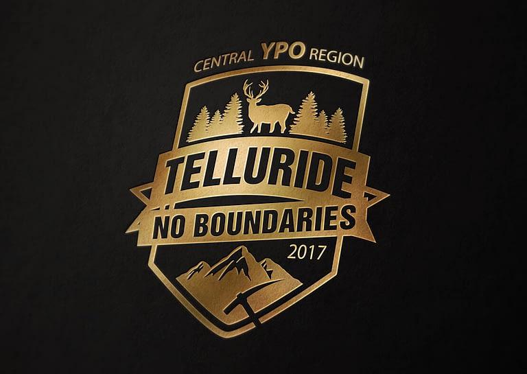 Logo for YPO annual event in Telluride