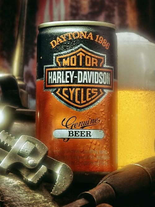 Harley-Beer Can design